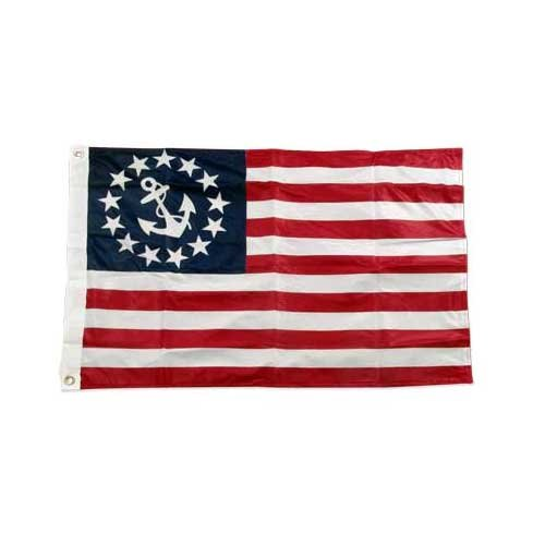 US Flag Store U.S. Yacht - Anchor - Flag 2ft x 3ft, used for sale  Delivered anywhere in USA