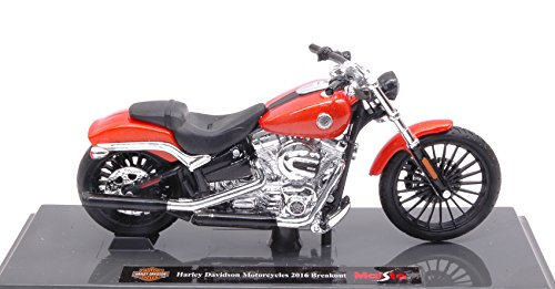 HARLEY DAVIDSON MOTORCYCLES 2016 BREAKOUT 1:18 Maisto - Moto - Die Cast - Modellino