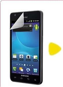 Samsung Galaxy S2 S II SCH-R760 R760X Screen Protector CLEAR Straight Talk Scratch Proof PRE-CUT + Yellow Pry Tool