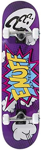 Enuff Pow 2 Mini Complete Skateboard Purple 7.25