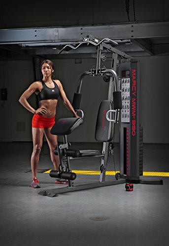 Fitness Workout Machines. Marcy 150-lb Multifunctional Home Gym Station for Total Body Training MWM-990. #exerciseequipment