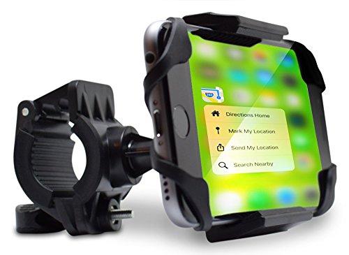 Teslan Trekker Bike Mount Phone Holder for iPhone and Android Smartphones, Bicycle...