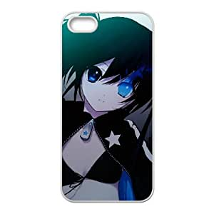 Black Rock Shooter iPhone 5 5s Cell Phone Case White Phone cover F7609761