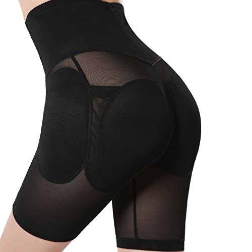 Topmelon Women's Shapewear Butt Lifter Padded Panty Body Shaper Black XXL (Butt Lifter For Black Women compare prices)