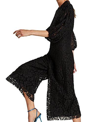 6b0284dd4c5d Zara Women Cropped lace jumpsuit 3872 243 (X-Large)  Amazon.ca  Clothing    Accessories