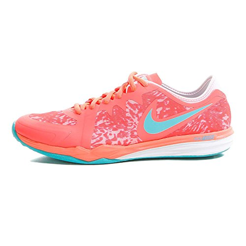 Nike - Dual Fusion Trainer 3 Print Chaussures de fitness pour femmes (orange) - EU 38 - US 7 Orange