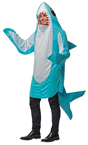 Blue Shark Adult Costume - One Size