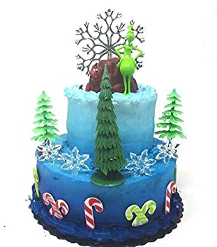 Amazon The Grinch Who Stole Christmas Birthday Cake Topper