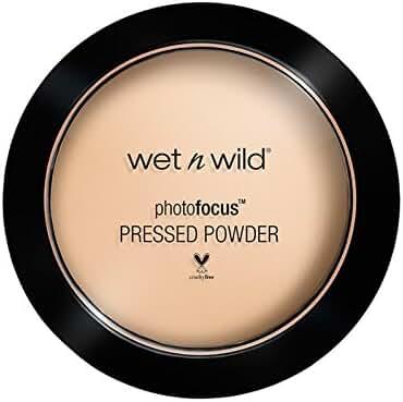 wet n wild Photo Focus Pressed Powder, Warm Light, 7.5 Gram
