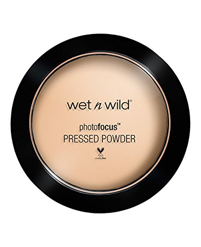wet n wild Photo Focus Pressed Powder(Packaging may vary), Warm Light, 7.5 Gram