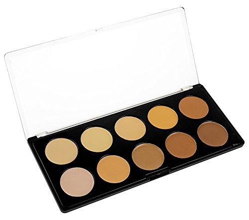 Style Essentials 10 Shades Concealer Palette (Style Palette)