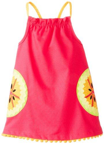 Mud Pie Baby-Girls Newborn Tutti Frutti Dress, Pink, 6-9 Months (Mud Pie Citrus compare prices)