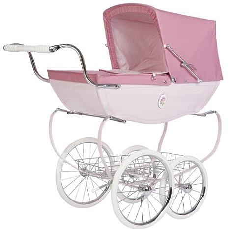 Silver Cross Carrito para muñeco de bebé, color rosa: Amazon.es: Juguetes y juegos