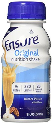Ensure Liq Bttr Pecan Btt Size 6/8z Ensure Balanced Nutrition Shake Butter Pecan 6 Pack 48 Fluid Ounce ()