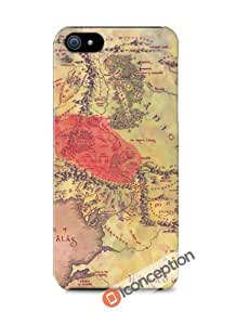 Lotr Middle Earth Map - Iphone 5/5s Cover