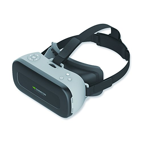 Full HD 1080P 5.5'' SHINECON AIO-01 VR 3D Glasses Headset H8VR Support WiFi OTG All In One Virtual Reality Android 5.1