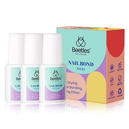 Nail Glue for Acrylic Nails, Beetles Gel Polish Super Strong Nail Bond Acrylic Nail Glue Adhesive for False Acrylic Nail Tips, Press on Nails, Crystal Nail Rhinestone Gems