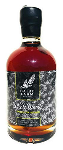 (Baird Farm Spruce Tip Infused Vermont Maple Syrup