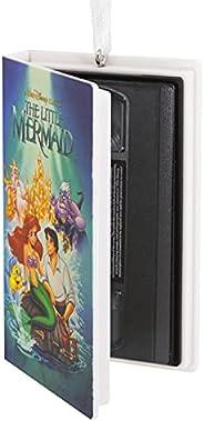 Hallmark Disney The Little Mermaid Retro Video Cassette Case Christmas Ornament