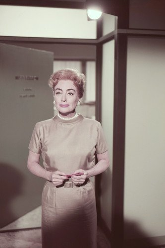 Joan Crawford in The Best of Everything standing in office 24x36 Poster (Joan Crawford The Best Of Everything)