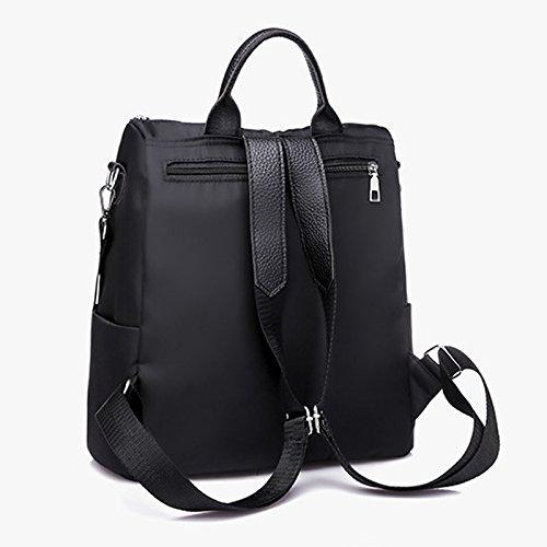 tissu Campus mode rétro Noir Oxford à nouvelle à ZCM dos tendance femme dos sac Sacs personnalité Shopping voyage wvpq8g