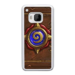 HTC One M9 Cell Phone Case White Hearthstone Heroes Of Warcraft AS7YD3571450