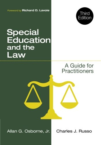 Special Education and the Law: A Guide for Practitioners (Special Education Law)
