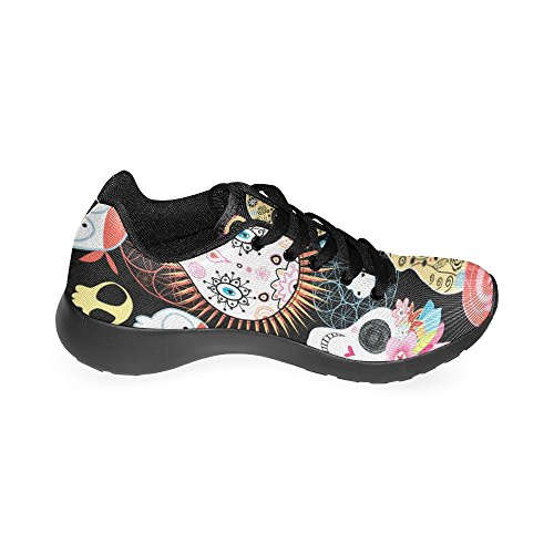 InterestPrint zombie zombie Beautiful Men Skulls InterestPrint Sports Running Shoes for rrwqTdS