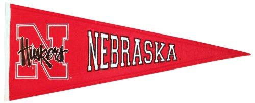 NCAA Nebraska Cornhuskers Medium Pennant