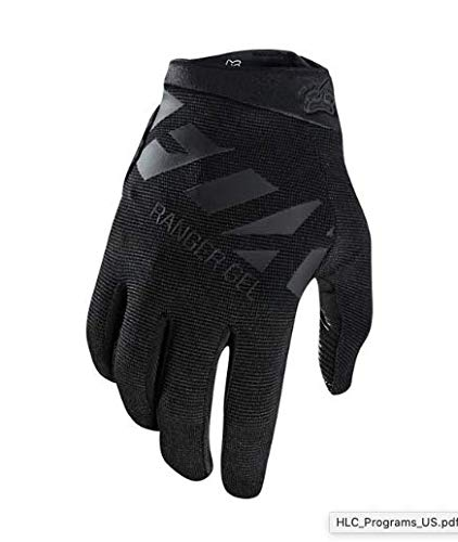 - Fox Racing Ranger Gel Glove - Men's Black/Black, L