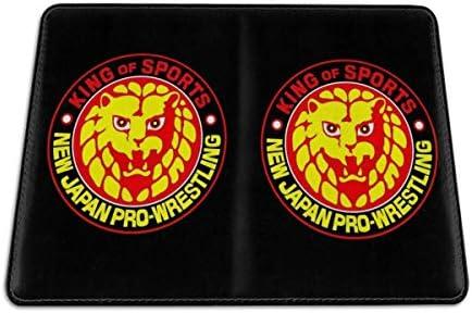 新日本 NJPW プロレスリング パスポートケース パスポートカバー メンズ レディース パスポートバッグ ポーチ 携帯便利 シンプル 収納カバー PUレザー収納抜群 携帯便利 海外旅行 出張 小型 軽便