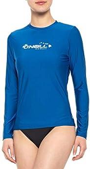 O'Neill Women's Basic Skins UPF 50+ Long Sleeve Ra