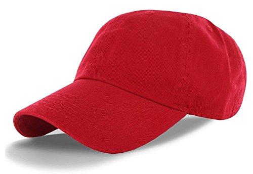 e681959dee1 Amazon.com  La Gen Unisex Blank Washed Low Profile Cotton and Denim  Baseball Cap Hat (Black)  Clothing