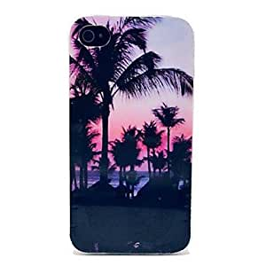 The Seaside Scenery Pattern TPU Soft Case for iPhone 4/4S