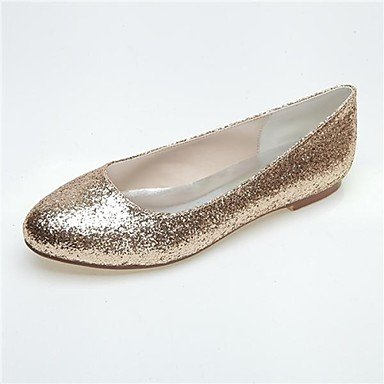 Women'S US10 Glitter 5 amp;Amp; Silver Winter Party EU42 Heel Flat Summer Fall Gold Spring UK8 5 Black Evening CN43 rTIxnOYr