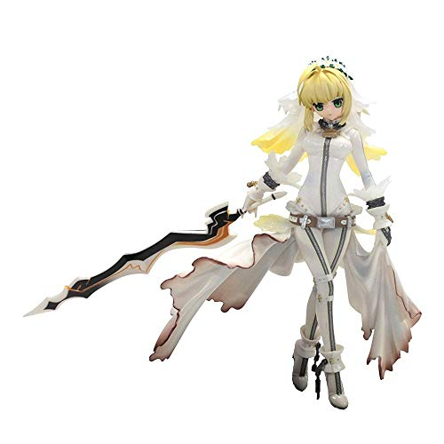 HTQING Fate/Stay Night Saber Wedding Dress Figure 11 Inches PVC