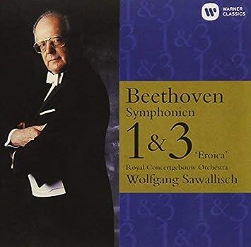 ベートーヴェン:交響曲第1番、第2番、第3番「英雄」、第8番