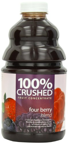 - Dr. Smoothie 100% Crushed Fruit Smoothie, Four Berry, 46-Ounce Bottles (Pack of 2)