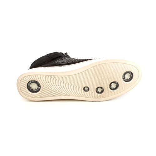 à lacets Chaussures Stones W coupe Penda Black classique femme Black et Coach EHUwqtPnn