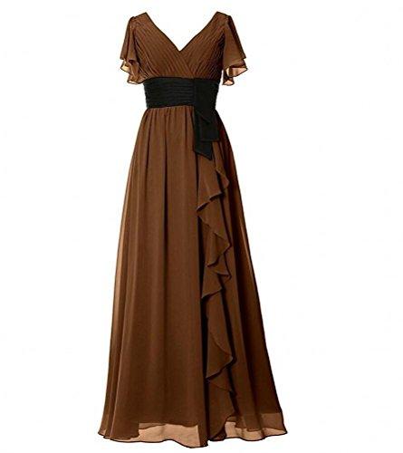KA Beauty - Vestido - para mujer marrón