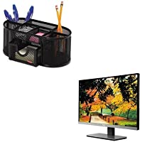 KITAOCI2267FWROL1746466 - Value Kit - Ingram Micro 67-Series Widescreen LED Monitor (AOCI2267FW) and Rolodex Mesh Pencil Cup Organizer (ROL1746466)