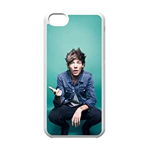DDOUGS Louis Tomlinson Custom Cell Phone Case for Iphone 5C, Customised Louis Tomlinson Case