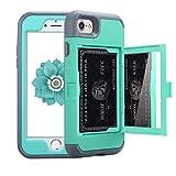 Best NOKEA Waterproof iPhone 4 Cases - iPhone 7 Case, NOKEA Mirror Wallet Case Card Review