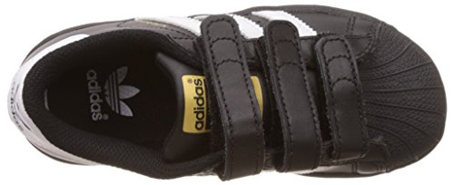 adidas Superstar Foundation CF C - Zapatillas Para Niño Negro (Core Black/Footwear White/Core Black)