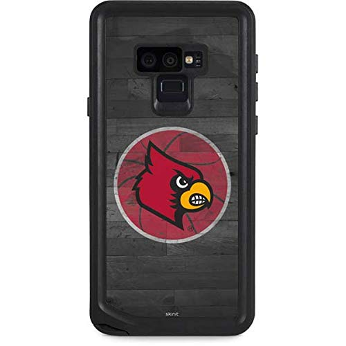 Skinit University of Louisville Galaxy Note 9 Waterproof Case - Louisville Cardinals Basketball Design - Sweat-Proof, Snow-Proof, Dirt-Proof, Dust-Proof Phone Cover ()