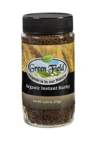 Green Tract Organic Instant Barley Drink - Caffeine Free - 75 Grams