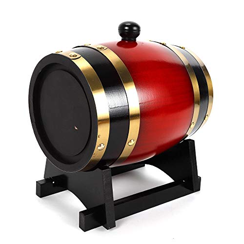10L Whisky Red Wine Oak Barrel Keg Wine Spirits Port Liquor Wood French Toasted Wine Barrels Brewing Equipment by NOPTEG (Image #5)