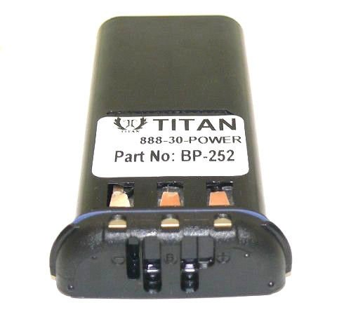 Titan BP-252 Li-ion Battery Pack For ICOM Handheld Marine Radio 950mAh M36 (M34 Handheld)