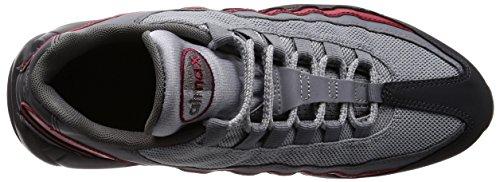 Nike Heren Air Max 95 Hardloopschoenen Antraciet / Cool Grijs-wolf Grijs