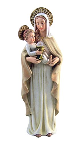 Resin Our Lady of the Blessed Sacrament Figurine Inspired by Sister M.I. Hummel, 8 - Christmas Hummels